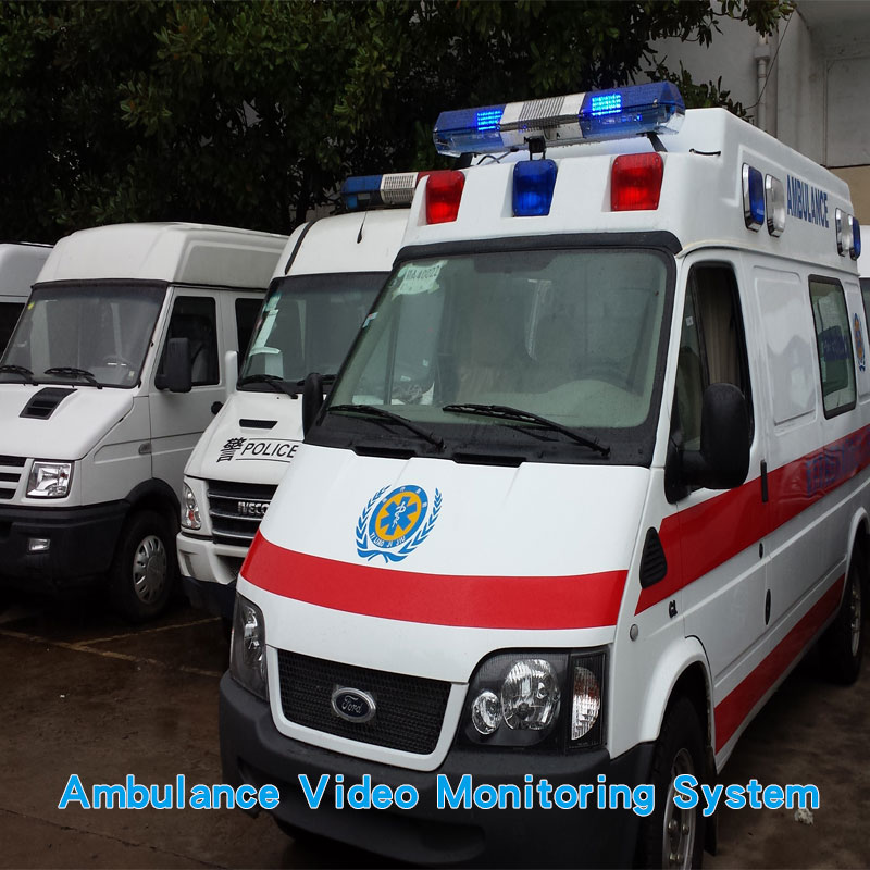 Multi-camera system for emergency ambulance