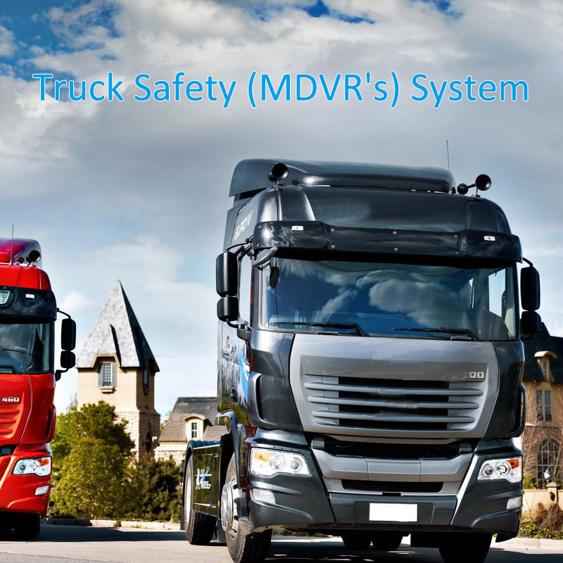 H.265 1080P MDVR 's system for logistics trucks